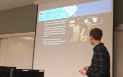 Mobile Marketing Class Presentation Day
