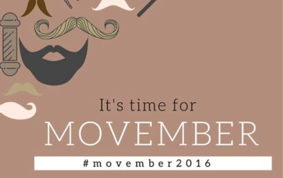 It's Time for Movember!