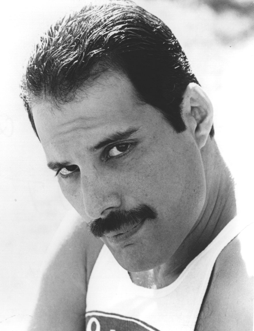 Image result for freddie mercury mustache
